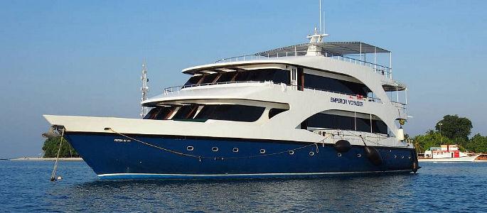 Voyager Crociera Sub Maldive | Un imbarcazione semplice e curata